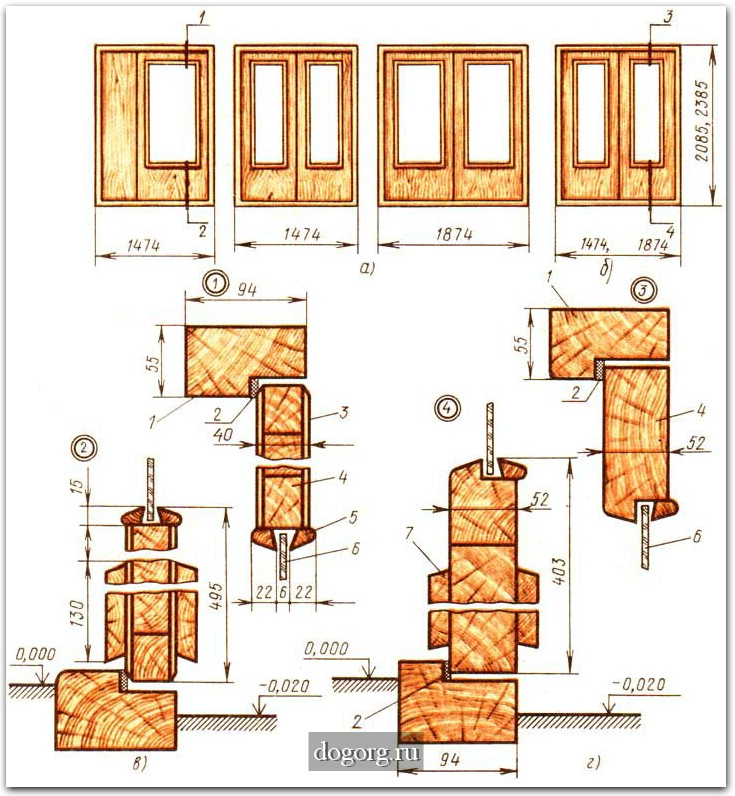 Дверные блоки для внутренних
